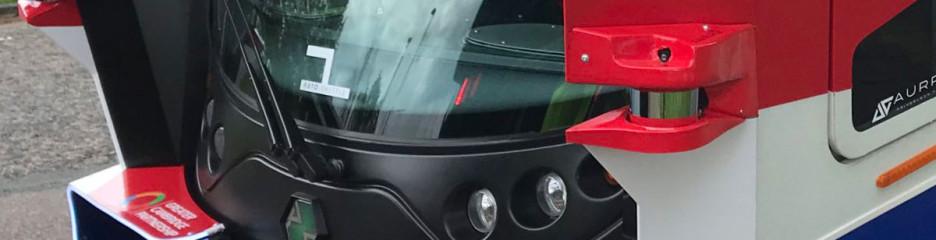 Пугающий автобус беспилотник