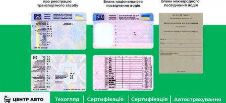 Утверждены новые бланки водительских прав и свидетельства о регистрации авто