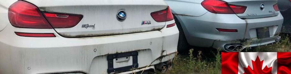 Три тысячи брошенных авто нашли в Канаде
