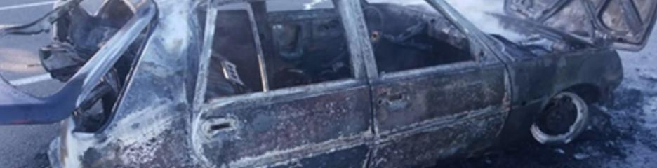 В результаті вибуху ГБО заживо згорів водій автомобіля