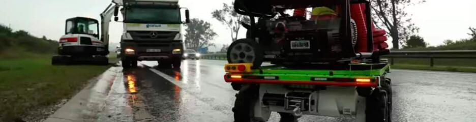 Роботизований ремонт доріг
