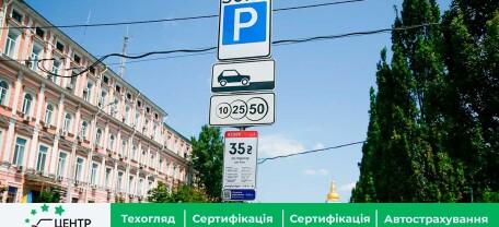 Нові паркувальні зони. Розподіл і тарифи